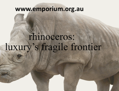 Rhinoceros: Luxury's Fragile Frontier