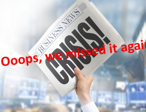 Ooops, We Missed It Again – Mainstream Media's Attention Deficit