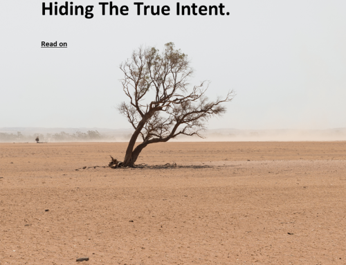 Hiding The True Intent